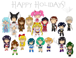 Chibi Holiday by Myztic-Beauty
