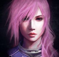 Final Fantasy XIII-2, Lightning by SaoriAiko