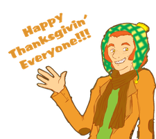 Happy Thanksgvin' by MissPomp