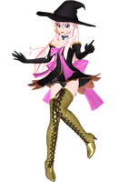 Project Diva Arcade Future Tone Witch Style Luka by WeFede