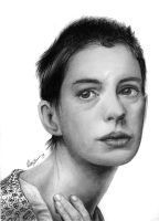 Anne Hathaway (as Fantine) by k-dezign
