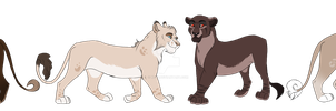 Lionesses Adopts! CLOSED by Ki-Re
