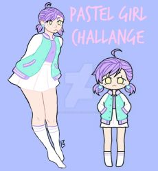 Pastel Girl challenge by Taki-chanEDM