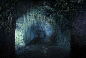 dripping stalactites by schnotte