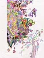 Colored Pencil Crack by Kayaticka