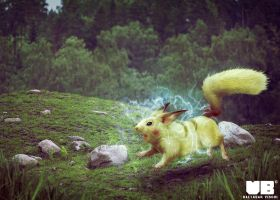 PIKACHU in real life by BaltasarVischi