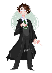 tom riddle/voldemort by bvbble