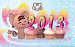Momocheet's New Year's Eve by lafhaha