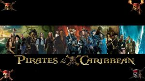 Pirates of the Caribbean 1-5 Legacy Wallpaper by The-Dark-Mamba-995