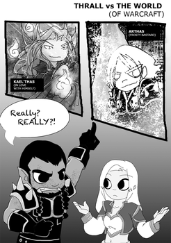 Thrall vs World... of Warcraft by Ghostey