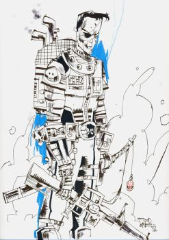 Nick Fury by JimMahfood-FoodOne