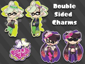 AVAILABLE Splatoon Callie and Marie Double Sided 2 by x-SpookyBoo-x