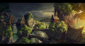 Indonesia fantasy by sheer-madness