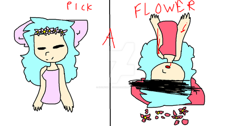 Pick A Flower by StoryShiftCharaGamin