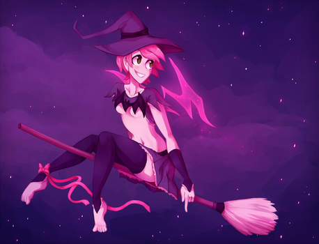 you don't need that broom to fly by LttleGhost