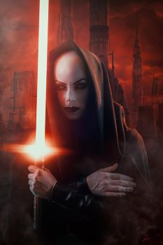 Asajj Ventress Cosplay by elenasamko