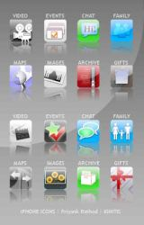 iPhone Icons by ignitis