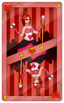 Annalyn Playing Card by MetalWing15