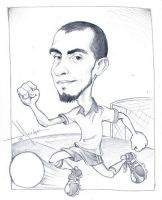 Andres Caricatura by Mecho