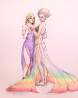 LGBT pride concept sketch by Katoons88