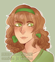 aph : waffle gurl ( comm ) by romanope