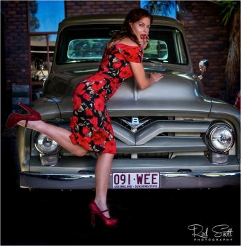 Pinup 4 by AngelBrittony-Adams