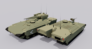 Terrier Heavy Armored Personnel Carrier by TheoComm
