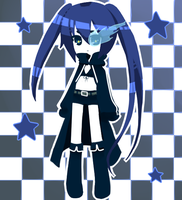 .:BRS:Black Rock Shooter:. by Tea-Hime