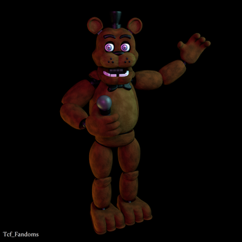 Stylized Freddy Fazbears by tcfFandoms