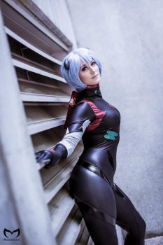 dersite's Rei Ayanami by MasamunePhotography