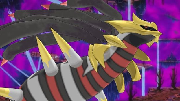 Giratina in the Distortion World V2 by ChrisM199