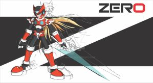 Megaman zero cover by LeThuong