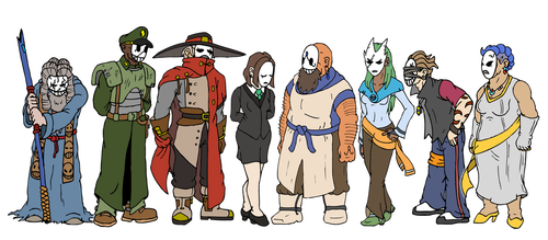 Waywachrie Council by NyQuilDreamer