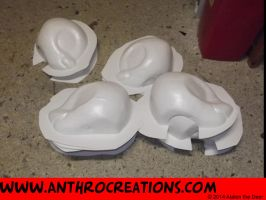 For Sale MLP Head Pony Bases Male Female Uncuts by AtalontheDeer