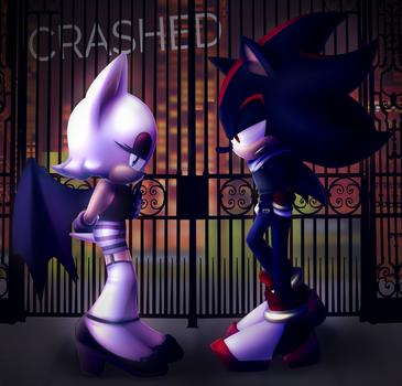 Crashed cover by Meinux [gift] by ShadowEatsSkittlez
