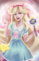Star Butterfly by BellaPikaNyan