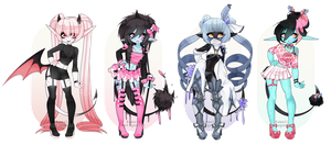 Guest Adopts | Nunuke| CLOSED by kawaii-antagonist