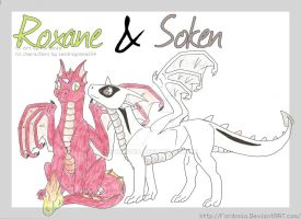 Roxane and Soken young by fordonia