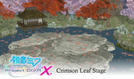 MMD Project Diva X: Crimson Leaf Stage by Terrathde