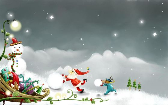 Christmas-SMS-Greetings by Bhanusrikanth
