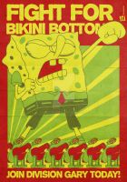 Fight For Bikini Bottom by BeJay