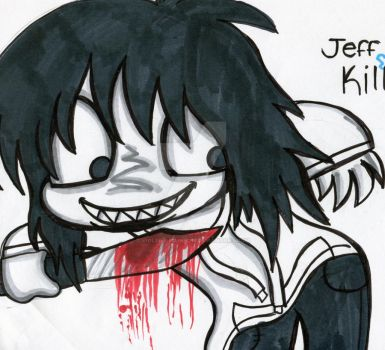 Jeff The Killer by Violent-Rainbow