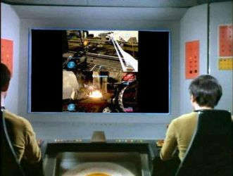 Chekov and Sulu playing Halo 3 by Anapneo