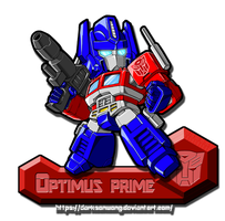 Optimus Prime (Version_G1) by darksonwong