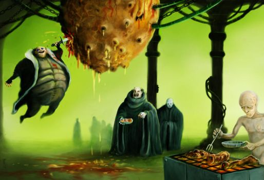 dinner with the harkonnen by Vaghauk