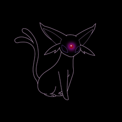 Espeon by cthulhuandyou