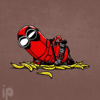 Banana Deadpool by inmaxpictures