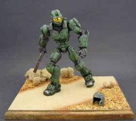 Master Chief 10 by Jin-Saotome