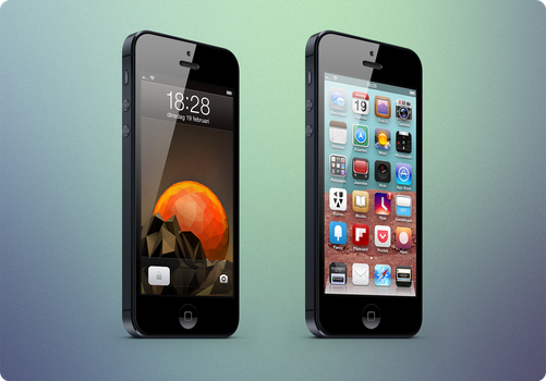 iPhone 5 Setup by bello2185