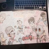 My TF2 Drawing by Riyana2